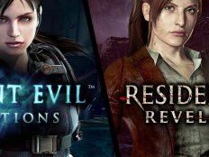 RESIDENT EVIL : REVELATIONS et RESIDENT EVIL : REVELATIONS 2 disponibles sur Nintendo Switch