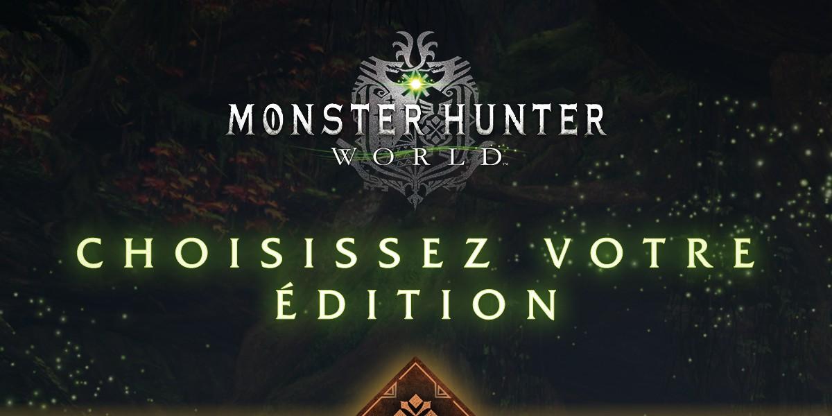 Mhw Calendrier.Monster Hunter Le Detail Des Editions Standard Et Deluxe