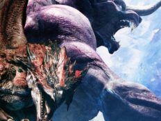 Le Béhémoth de Final Fantasy XIV s'invite à coups de griffes dans MONSTER HUNTER: WORLD