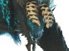 Le Zinogre déboule en furie dans MONSTER HUNTER WORLD: ICEBORNE