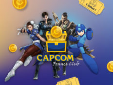 Des cadeaux à gagner tous les mois grâce au tout nouveau CAPCOM FRANCE CLUB !